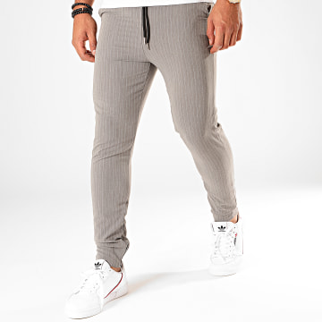 Pantalon Rayures 1639 Gris
