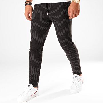 Pantalon Rayures 1639 Noir