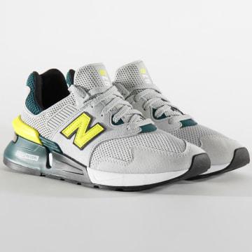 New Balance - Baskets Lifestyle 977 767251 Grey Yellow