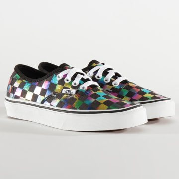 Vans - Baskets Femme Authentic Iridescent Check A2Z5ISRY Black True White