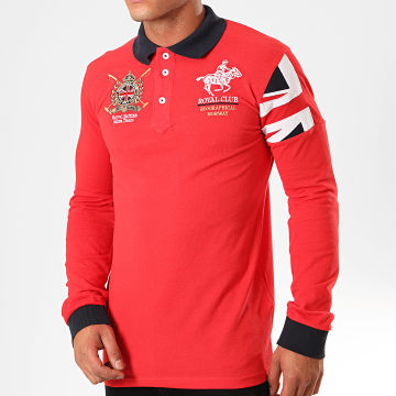 Geographical Norway - Polo Manches Longues Koduk Rouge