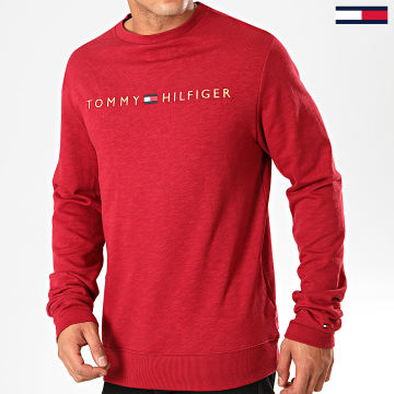 Sweat Crewneck Track 1209 Rouge Chiné