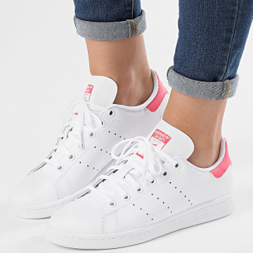 Adidas Originals - Baskets Femme Stan Smith EE7573 Footwear White Real Pink