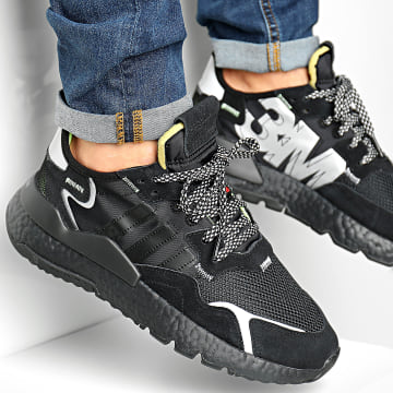 Baskets Nite Jogger EE5884 Core Black Core Black