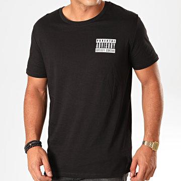 Parental Advisory - Tee Shirt Tag Noir