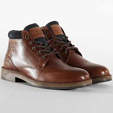 Bottines Tiran YO421ZS Brandy Marine