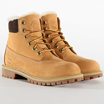 Timberland - Boots Femme 6 Inch Premium Sherling Boo A1BEI Wheat Nubuck