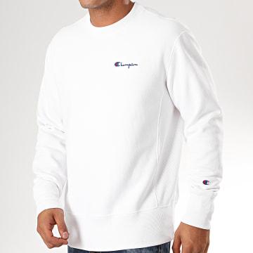 Sweat Crewneck 213603 Blanc