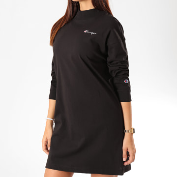 Champion - Robe Sweat Femme 112215 Noir