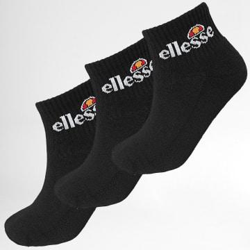 Ellesse - Lot De 3 Paires De Chaussettes Arrom SBAC0870 Noir