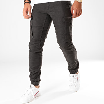 Jogger Pant Paul Lake Gris Anthracite