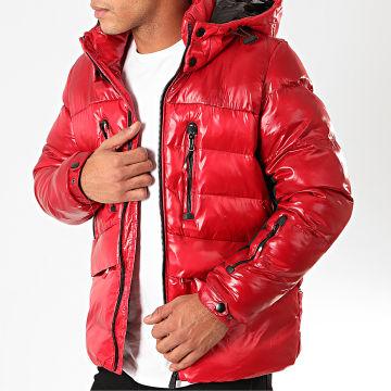 Terance Kole - Doudoune Capuche 79701 Rouge