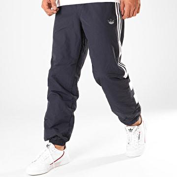 Adidas Originals - Pantalon Jogging A Bandes Balanta ED7125 Bleu Marine