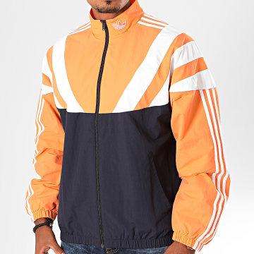 Adidas Originals - Veste De Sport A Bandes BLNT 96 EE2337 Bleu Marine Saumon