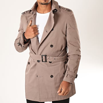 Mackten - Manteau Trench Coat 604 Taupe