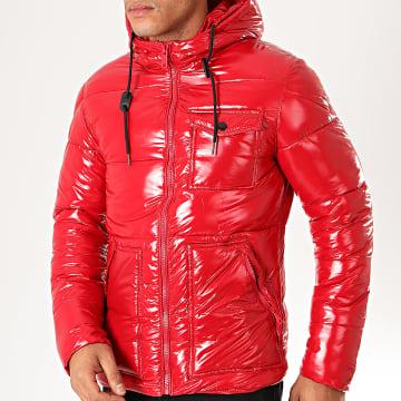 MTX - Doudoune Capuche 973 Rouge