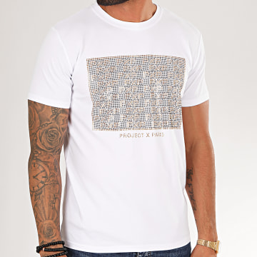 Project X - Tee Shirt 1910061 Blanc