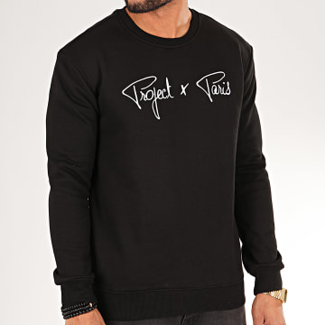 Project X - Sweat Crewneck 1920009 Noir