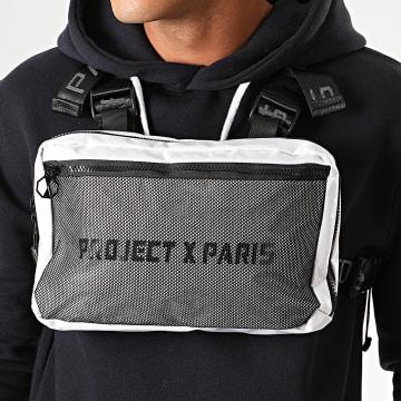 Project X - Sacoche De Poitrine C1903 Noir Blanc