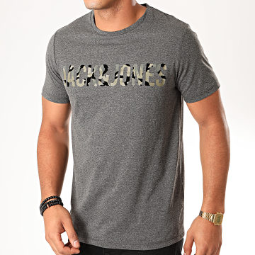 Tee Shirt Camouflage Cloak Gris Anthracite Chiné