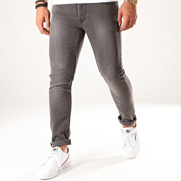 Only And Sons - Jean Slim Loom Gris Anthracite