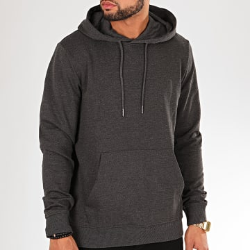 Only And Sons - Sweat Capuche Winston Gris Anthracite Chiné