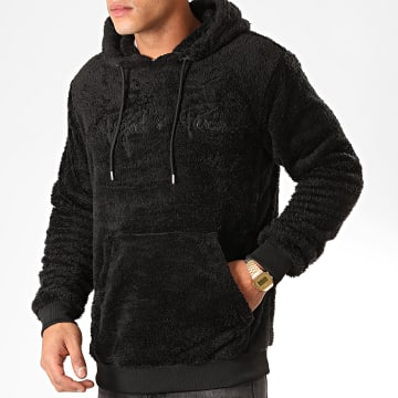 Sweat Capuche Fourrure 1920029 Noir