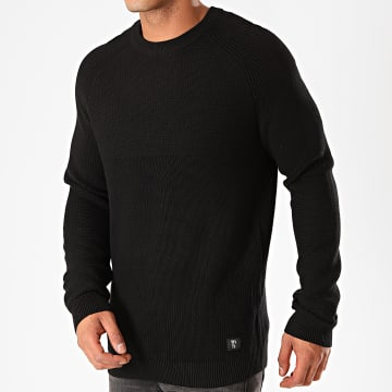 Tom Tailor - Pull Structure Mix 1014456 Noir