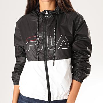 Fila - Coupe-Vent Femme Abra 682840 Noir Blanc