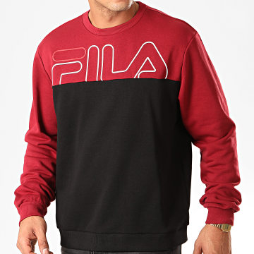 Sweat Crewneck Moby 682867 Noir Bordeaux