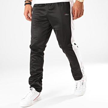 Pantalon Jogging A Bandes Senn 682871 Noir Blanc