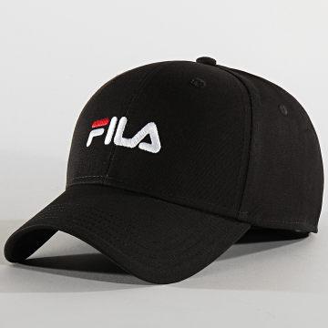 Fila - Casquette Linear Logo Strapback 686029 Noir