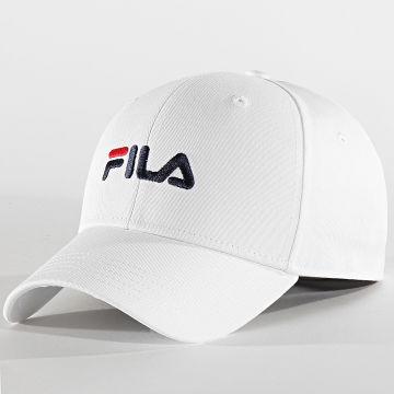 Fila - Casquette Linear Logo Strapback 686029 Blanc