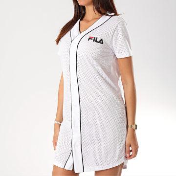 Robe Femme Baseball Robin 687089 Blanc