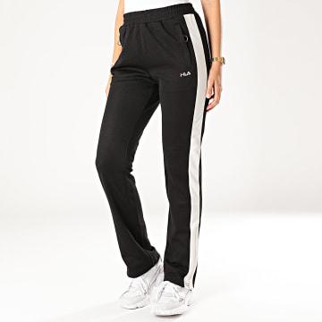 Pantalon Jogging Femme A Bandes Nery 687093 Noir