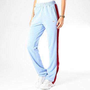 Fila - Pantalon Jogging Femme A Bandes Nery 687093 Bleu Clair