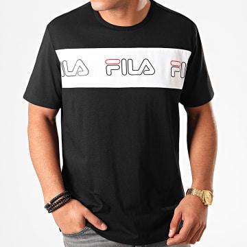 Tee Shirt Aki Logo 687129 Noir Blanc