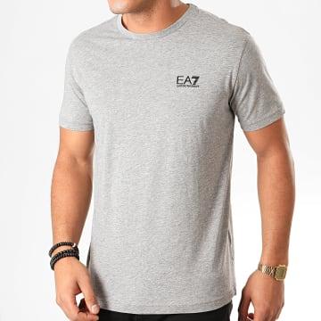 Tee Shirt 8NPT51-PJM9Z Gris Chiné