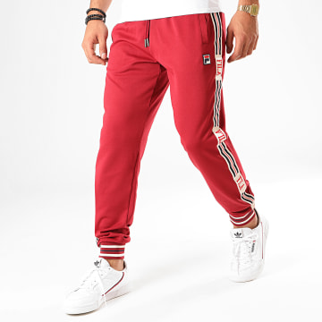Pantalon Jogging A Bandes Avtandie 687301 Rouge