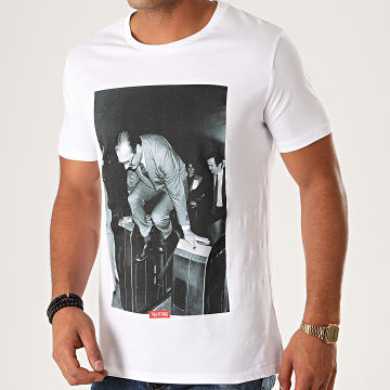 Thug N Swag - Tee Shirt Chirac Au Métro Blanc