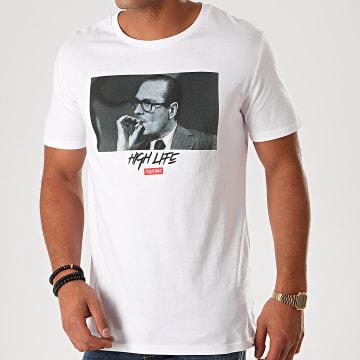 Thug N Swag - Tee Shirt Chirac Clope Blanc