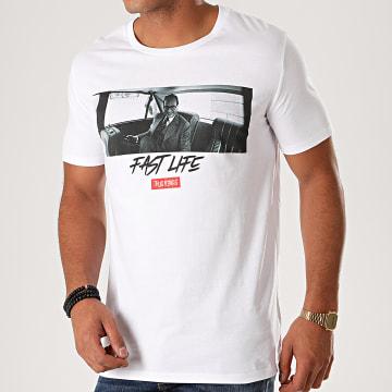 Thug N Swag - Tee Shirt Chirac En Limo Blanc