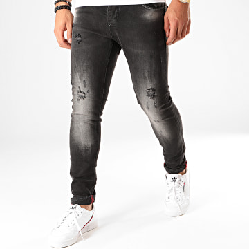 Jean Skinny 156 Gris Anthracite