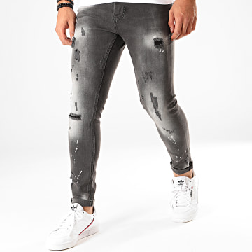 Jean Skinny 153 Gris Anthracite