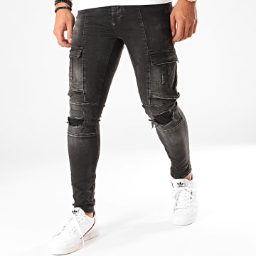 Jean Skinny 129 Gris Anthracite