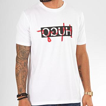 Tee Shirt Dicagolino201 50421541 Blanc Noir Rouge