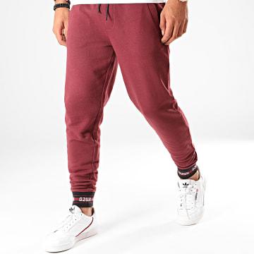 Pantalon Jogging Reverse Logo Doak201 50422161 Bordeaux
