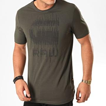 G-Star - Tee Shirt Graphic 6 D15600-B770 Vert Kaki