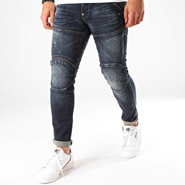 G-Star - Jean Skinny 56203D Zip Knee D01252-8968 Bleu Denim