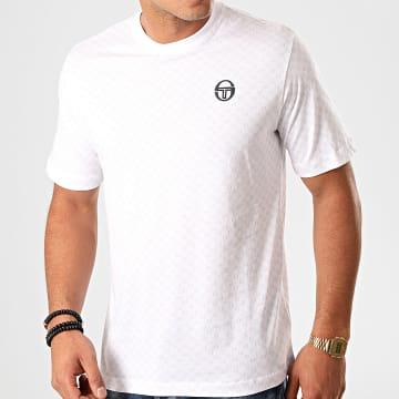Sergio Tacchini - Tee Shirt Din 38701 Blanc